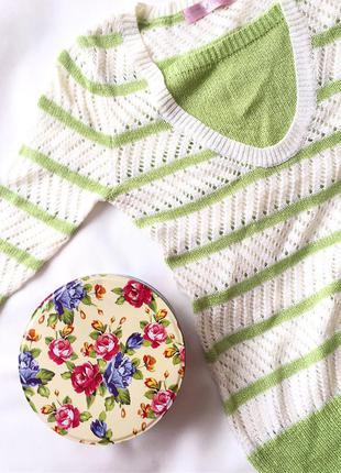 Пуловер кардиган туника