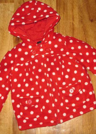 Яркая, теплая и очень красочная куртка george, рост 104 см