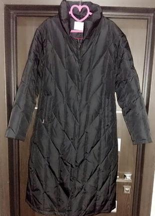 Мега теплое пальто-пуховик одеяло tcm на 50 размер.