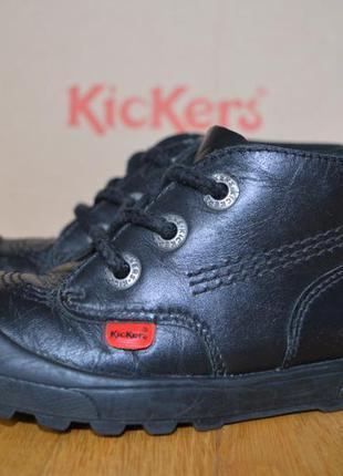 Ботинки детские натуральная кожа kickers