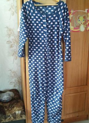 Теплая флисовая пижама кигуруми можно для беременных