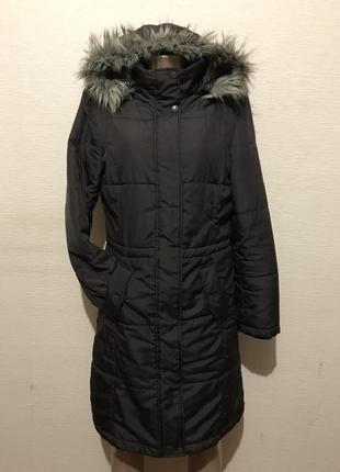 Зимнее пальто пуховик куртка из плащевки