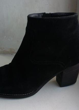 Замшевые ботинки paul green