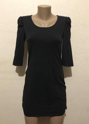 17fb27ab71b Женские базовые черные платья 2019 - купить недорого вещи в интернет ...