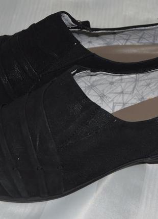 Туфли балетки кожа marc німеччина размер 37 38 39 41, туфлі шкіра