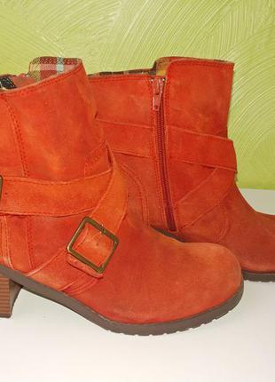 Рыжие ботинки american eagle, 41 размер