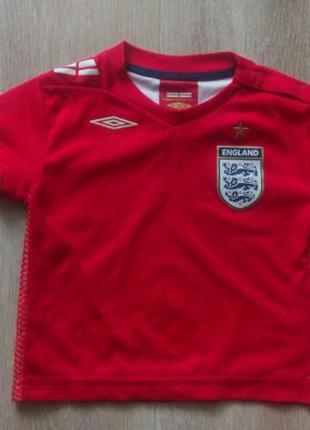 Оригінальна футболка зб. англії 18-24 міс.