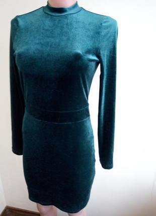 Платье велюр h&m. p.s. (8)