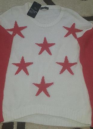Новый свитер-джемпер.распродажа!турция.