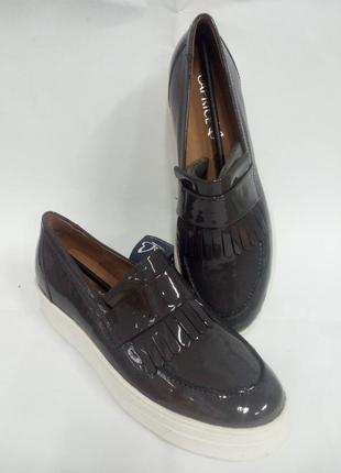 Слипоны кожаные.германия.,,caprice,, размеры 38,39,40