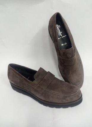 Туфли кожаные(замша) .германия.,,semler,,размеры 39,40,42,5