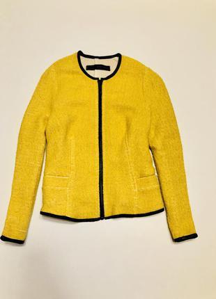 Пиджачок zara, в составе шерсть