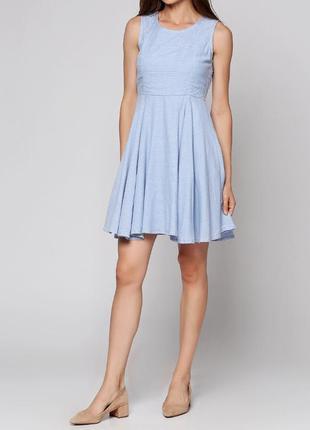 Крутое нежное платье vila