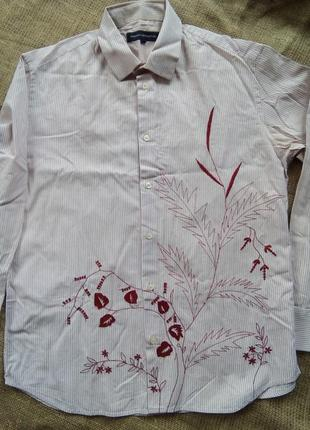 Мужская рубашка, бохо стиль