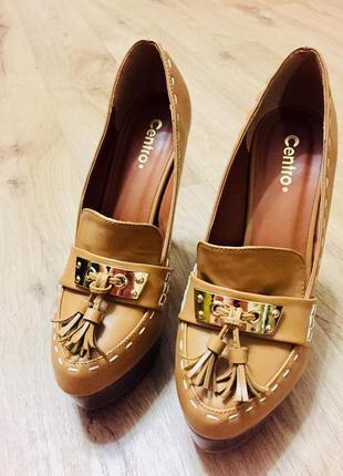 Крутые туфли на высоком каблуке2