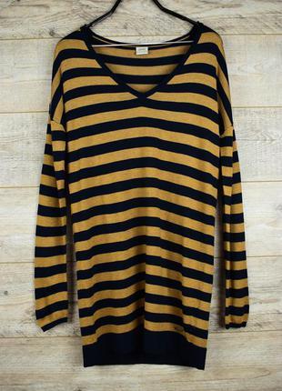 Стильная кофта свитер в полоску от espirit