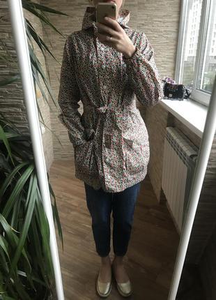 Непромокаемая куртка ветровка дождевик плащ next s(36, 42) женская
