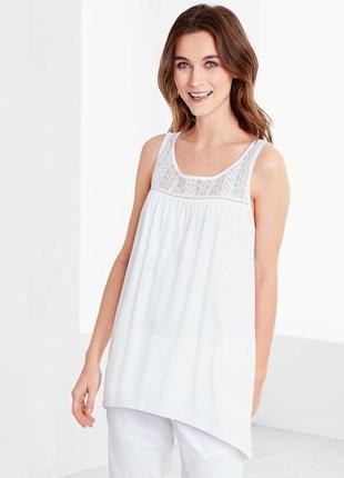 Эффектная футболка блузка от тсм tchibo германия, размер  48/50 евро