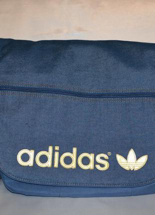Большая спортивная сумка adidas, оригинал