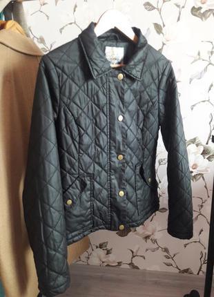 Куртка стеганая демисезонная new look
