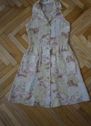 Приятное и легкое  летнее платье