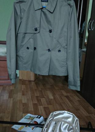 Стильное полупальто, плащик,курточка 100%хлопок от sinsay