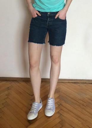 Dkny шорты, джинсовые, джинсові шорти