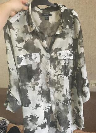 Крутая блуза милитари