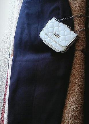 Шифоновая юбка в пол шоколадная
