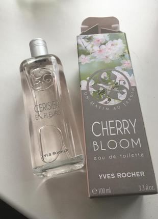Духи, туалетная вода, 100мл. ив роше. вишневый цвет, цветочный свежий аромат