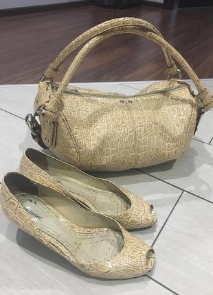 Cумка туфлі оригінал baldinini