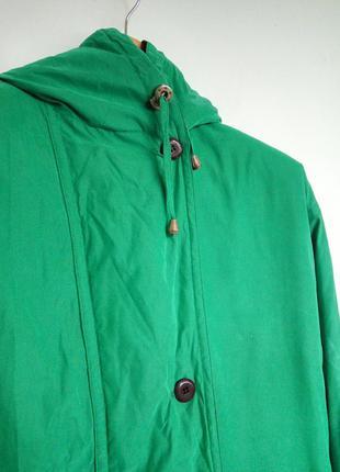 Предлагайте свою цену | зелёная парка | тёплая куртка | защита от ветра | есть капюшон