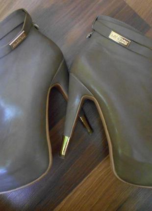 Ботинки/ботильоны/высокий каблук stella marco