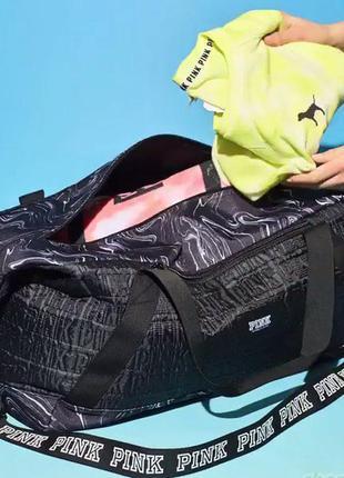 Дорожная спортивная сумка victoria's secret pink виктория сикрет оригинал