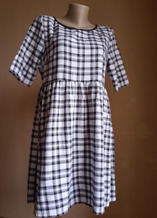 Стильное платье хлопок f&f британия