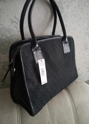 Красивая классическая сумка dkny