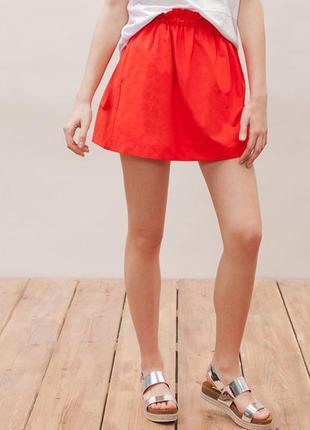 Яркая красивая юбка stradivarius размер m/l