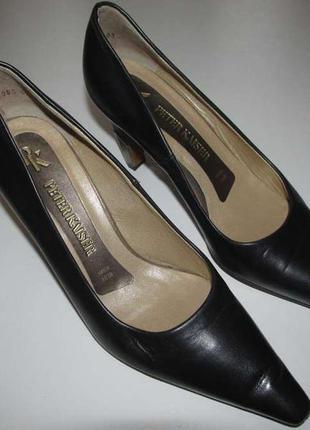 Туфли peter kaiser, germany, кожаные 100% , 24,5см. сост отличное!