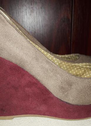 Туфли на платформе 40 размер