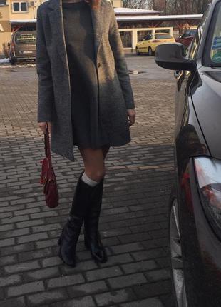 Пальто твид s - ka, bershka