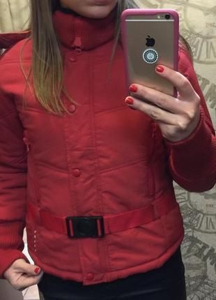 Лыжная куртка prada, размер м