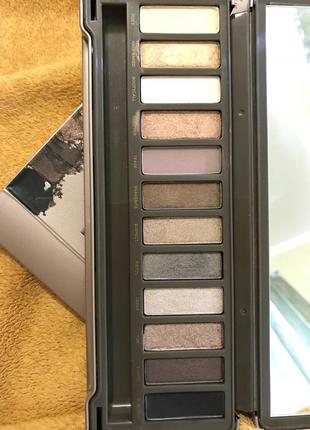 Оригинальная палетка теней naked2, почти новая!