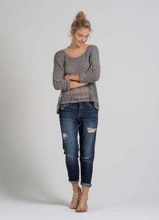 Идеальные стильные джинсы с лёгкой рванностью abercrombie&fitch