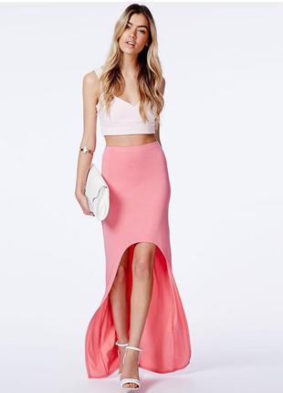 Юбка макси m/l длинная юбка