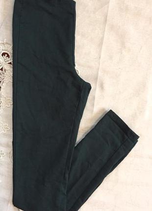 Штаны с завышенной талией