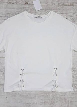 Женская трикотажная футболка c&a. размер м