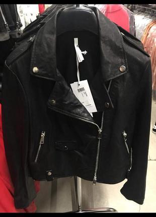 Супер кожаная куртка косуха imperial (италия)