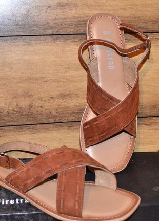 Полностью кожаные сандалии firetrap 37-38р.