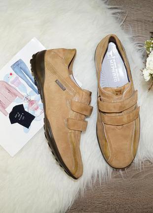(38р./25см) mephisto! замша/кожа! качественные комфортные кроссовки, спортивные туфли