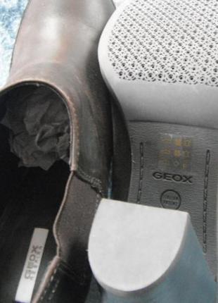 """Кожаные туфли  """"geox"""" новые очень клевые"""